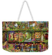 The Garden Shelf Weekender Tote Bag