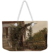 The Garden Steps Weekender Tote Bag