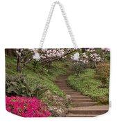 The Garden Steps Weekender Tote Bag