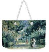 The Gardens In Montmartre Weekender Tote Bag by Pierre Auguste Renoir