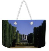 The Gardens Of The Alcazar Of Catholic Weekender Tote Bag