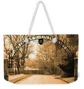The Gate At Widener University Weekender Tote Bag