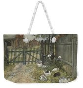 The Gate. From A Home Weekender Tote Bag