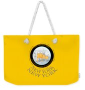 The Gates By Christos In Central Park Weekender Tote Bag