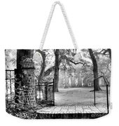The Gates Of The Old Sheldon Church Weekender Tote Bag