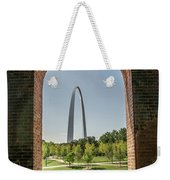 The Gateway To The Arch Weekender Tote Bag