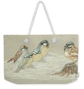 The Gathering Weekender Tote Bag by Ginny Youngblood