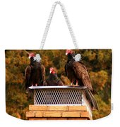 The Gathering Of Vultures Weekender Tote Bag