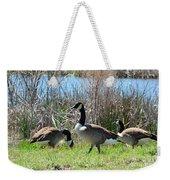 The Geese Are Back Weekender Tote Bag