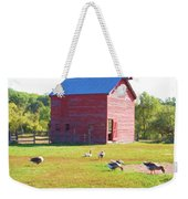 The Geese Are Out Weekender Tote Bag