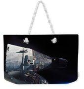The Gemini 7 Spacecraft In Earth Orbit Weekender Tote Bag