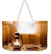 The General Store Backroom - Sepia Weekender Tote Bag