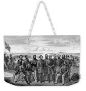 The Generals Of The Confederate Army Weekender Tote Bag by War Is Hell Store