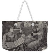 The Gentle Music Of The Bygone Day Weekender Tote Bag