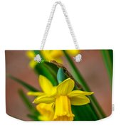 The Gentleness Of Spring Weekender Tote Bag