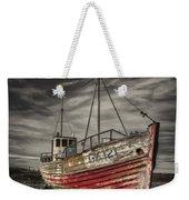 The Ghost Ship Weekender Tote Bag
