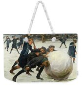The Giant Snowball Weekender Tote Bag