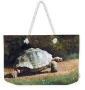 The Giant Tortoise Is Walking Weekender Tote Bag