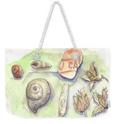 The Gifts Of The Mountain River Weekender Tote Bag