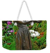 The Girl Among Orchids Weekender Tote Bag