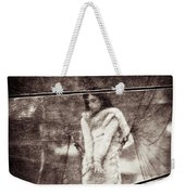 The Girl In The Bubble Weekender Tote Bag