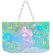 The Girl In The Pink Light Weekender Tote Bag