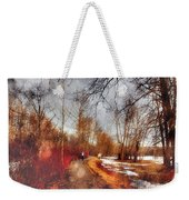 The Girl On The Path Weekender Tote Bag