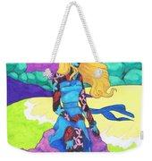 The Girl Series 03 - The Prettiest Girl Weekender Tote Bag