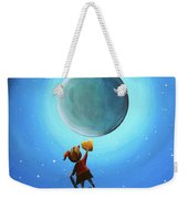 The Girl With The Golden Heart Weekender Tote Bag