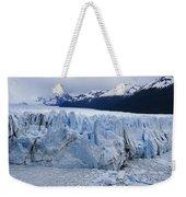 The Glacier Advances Weekender Tote Bag