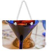 The Glass Of Strawberries Weekender Tote Bag