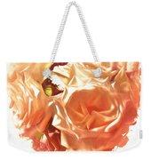 The Glow Of Roses Weekender Tote Bag