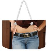 The Gm Belt Weekender Tote Bag