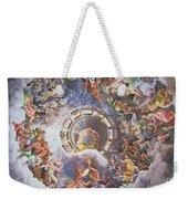 The Gods Of Olympus Weekender Tote Bag by Giulio Romano