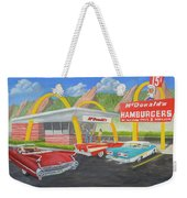 The Golden Age Of The Golden Arches Weekender Tote Bag