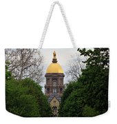 The Golden Dome Weekender Tote Bag