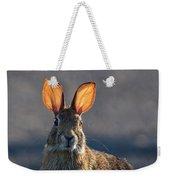 Golden Ears Bunny Weekender Tote Bag