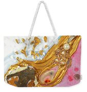 The Golden Flow Of Love And Determination Weekender Tote Bag