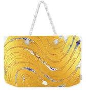 The Golden Flow Of Peace Weekender Tote Bag