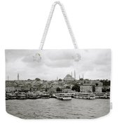 The Golden Horn Weekender Tote Bag