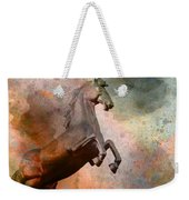 The Golden Horse Weekender Tote Bag by Issabild -