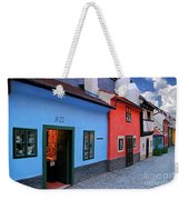 The Golden Lane Weekender Tote Bag by Mariola Bitner
