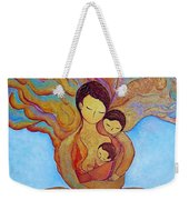 The Golden Tree Of Life Weekender Tote Bag