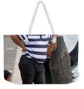 The Gondolier Weekender Tote Bag