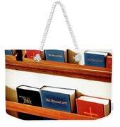 The Good Books Weekender Tote Bag