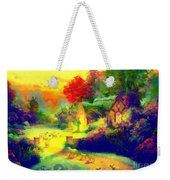 The Good Shepherd Painting In Hotty Totty  Weekender Tote Bag