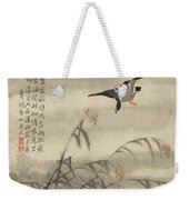 The Goose That Takes Off Weekender Tote Bag