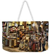 The Grand Bazaar In Istanbul Turkey Weekender Tote Bag by David Smith