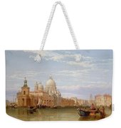 The Grand Canal - Venice Weekender Tote Bag