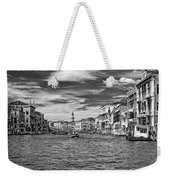 The Grand Canal Bw Weekender Tote Bag